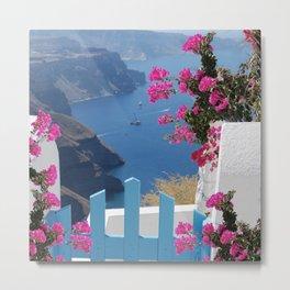 The wonderful Santorini Metal Print