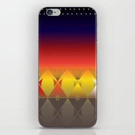 Night Tipi iPhone Skin