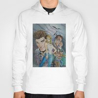 buffy Hoodies featuring Buffy and the vampire by PaulysVoice