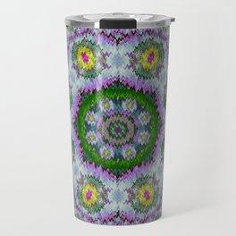 summer bloom in floral spring time Travel Mug
