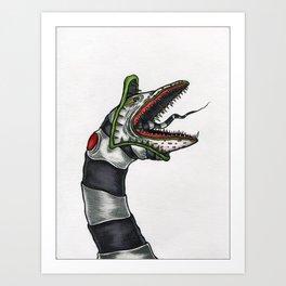 Sandworm Art Print