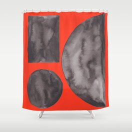8  | Imperfection | 190325 Abstract Shapes Shower Curtain