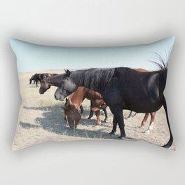 All in a Row Rectangular Pillow