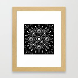 Tribal Art Framed Art Print