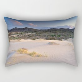 Pink desert Rectangular Pillow
