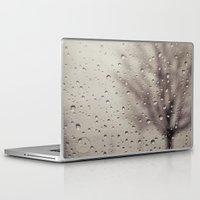 rain Laptop & iPad Skins featuring Rain  by Laura Ruth