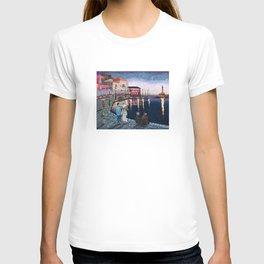 Greece: A Night in Chania, Crete T-shirt