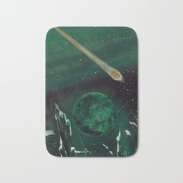 Copper Colored Comet Cometh Bath Mat