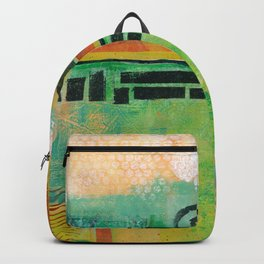 Abstract Landscape II Backpack