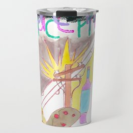 """Crabapples in the Century's Storm"" / Frontier Ruckus Song Illustrations, Series 1 (9/15) Travel Mug"