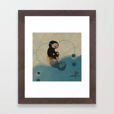 La_CriME Framed Art Print