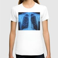 medical T-shirts featuring x ray medical radiography by tony tudor