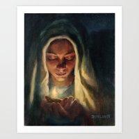 Wise Virgin Art Print