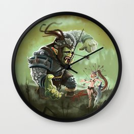 Orc problems Wall Clock