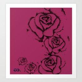 Rose' Art Print