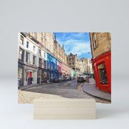 Edinburgh Grassmarket Mini Art Print
