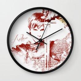 Arthur Pendragon - Merlin Wall Clock