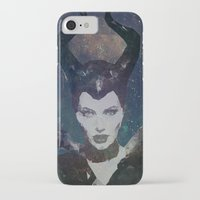 maleficent iPhone & iPod Cases featuring Maleficent by Esco