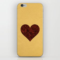 - heart line - iPhone Skin
