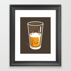 Pessimistic Optimist - alt version Framed Art Print
