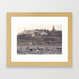 Palace Boats Framed Art Print