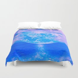 MOON BEAMS Duvet Cover