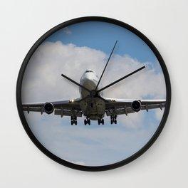 Virgin Atlantic Boeing 747 Wall Clock