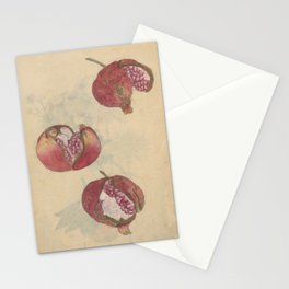 Pomegranates Stationery Cards