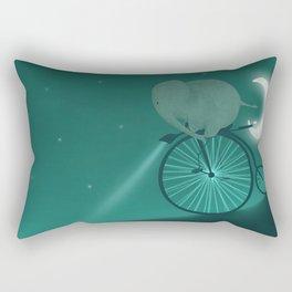 Elephant on wheels Rectangular Pillow