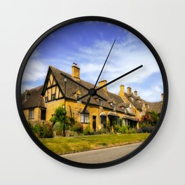 Alluring Cotswolds. Wall Clock