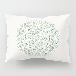 Jardin Mandala - Lime Pillow Sham
