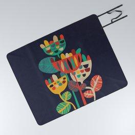 Wild Flowers Picnic Blanket