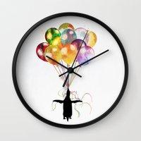 penguin Wall Clocks featuring Penguin by emegi