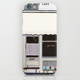 Holiday cafe iPhone Case