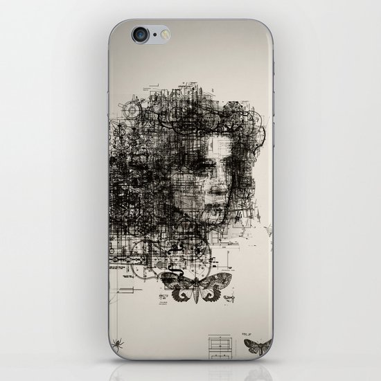 involuntary dilation of the iris iPhone & iPod Skin