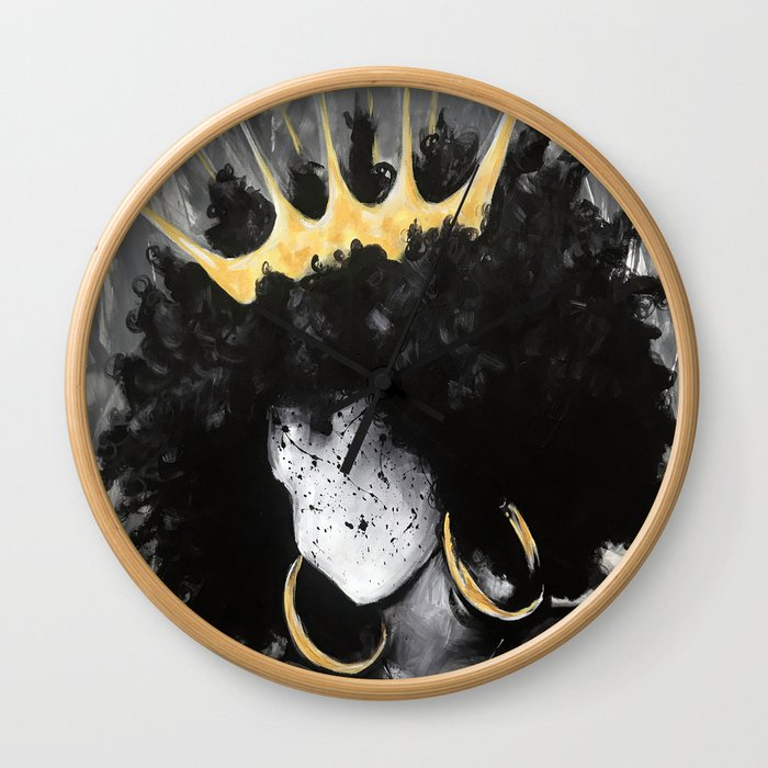 Naturally Queen III Wall Clock