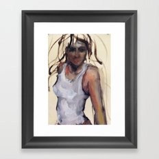 The Lurk Framed Art Print