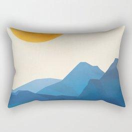 Minimalistic Landscape 15 Rectangular Pillow