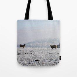 Winter Sheep Tote Bag
