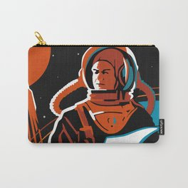 Battle Beyond The Sun, 1959 (Recreated Vintage Soviet Movie Poster) Carry-All Pouch