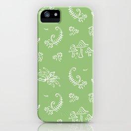 Lady Fern - Green iPhone Case