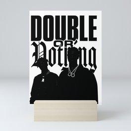 BIG - DOUBLE OR NOTHING Mini Art Print