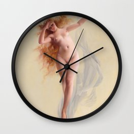 "Luis Ricardo Falero ""Dawn"" Wall Clock"