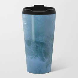 Crashing Waves Up Close by Aloha Kea Photography Travel Mug