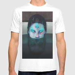 Demon in Bathtub T-shirt