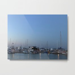 Boats at Nelsons Bay, NSW, Australia Metal Print