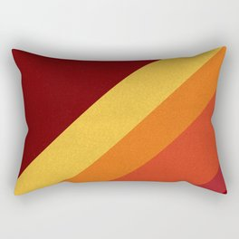 Retro 70s Color Palette II Rectangular Pillow