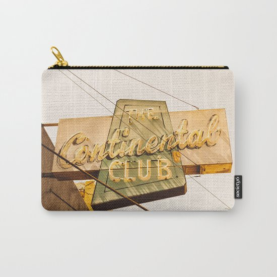The Continental Club Carry-All Pouch