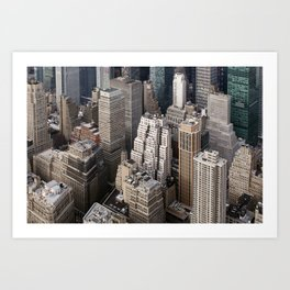 Up close and personal - NYC Art Print