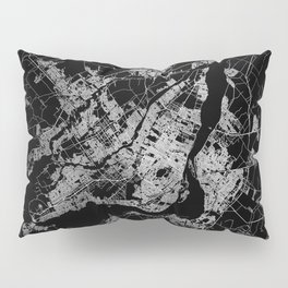 montreal map Pillow Sham